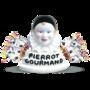 Pierrot Gourmand Box Set : bust + box of 40 assorted lollipops-1